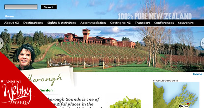 Tourism New Zealand Lifestyle Module